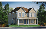 Traditional House Plan Front of Home - 026D-2087 | House Plans and More
