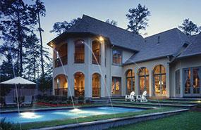 beautiful outdoor swimming pool