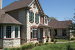 Arts & Crafts House Plan Front Photo 02 - Oak Leaf Manor Luxury Home 027S-0003 | House Plans and More