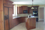 Arts & Crafts House Plan Kitchen Photo 01 - Oak Leaf Manor Luxury Home 027S-0003 | House Plans and More