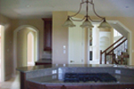 Arts & Crafts House Plan Kitchen Photo 02 - Oak Leaf Manor Luxury Home 027S-0003 | House Plans and More
