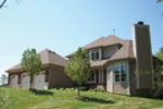 Arts & Crafts House Plan Side View Photo 02 - Oak Leaf Manor Luxury Home 027S-0003 | House Plans and More