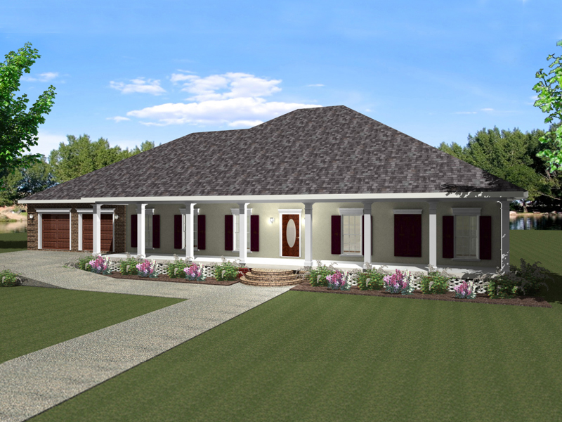 on 0ne and a half story house plans