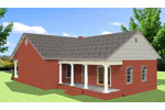 Cabin & Cottage House Plan Color Image of House - Emma Cottage Home 028D-0086 | House Plans and More
