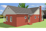 Cabin & Cottage House Plan Rear Photo 01 - Emma Cottage Home 028D-0086 | House Plans and More