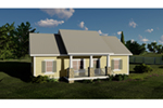 Southern House Plan Front of House 028D-0092