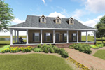 Ranch House Plan Front Photo 01 - 028D-0095 | House Plans and More