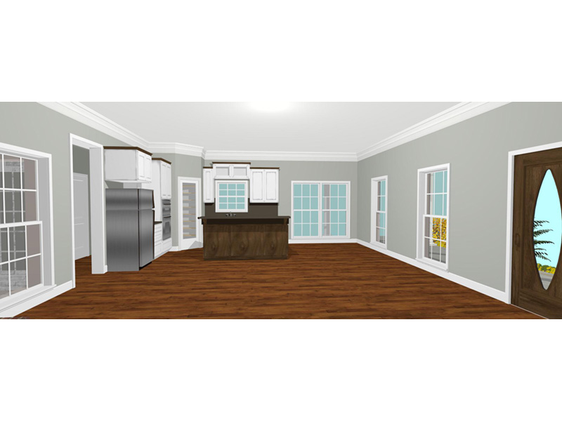 Ranch House Plan Kitchen Photo 01 - 028D-0095 | House Plans and More
