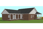 Ranch House Plan Rear Photo 01 - 028D-0095 | House Plans and More