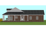 Ranch House Plan Side View Photo - 028D-0095 | House Plans and More