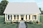 Florida House Plan Front of Home - 028D-0103 | House Plans and More