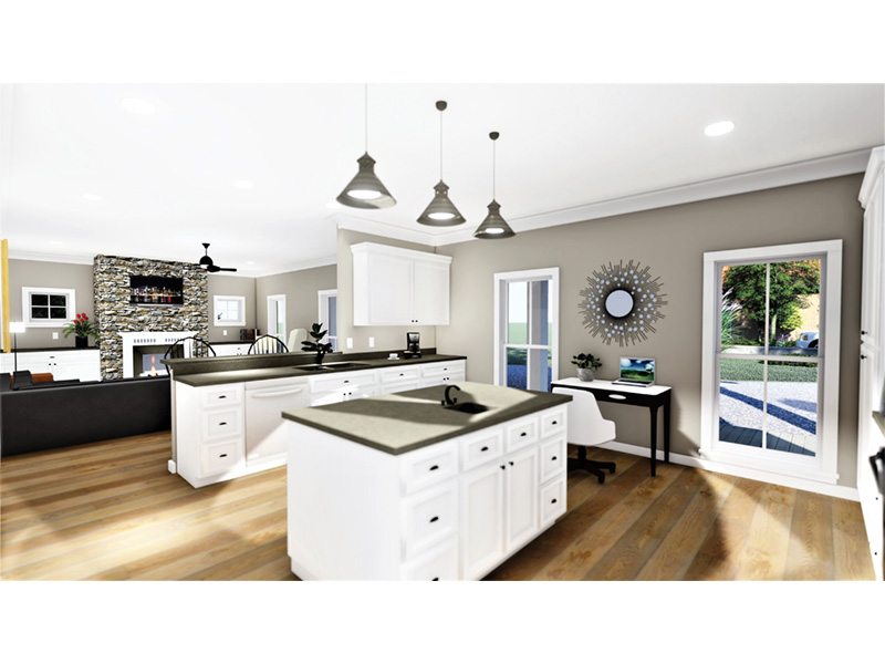 Florida House Plan Kitchen Photo 01 - 028D-0103 | House Plans and More