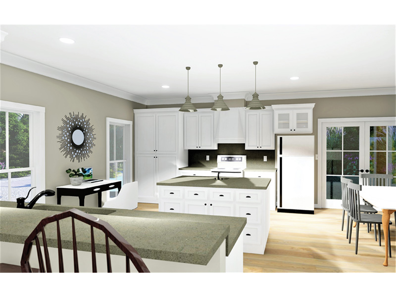 Florida House Plan Kitchen Photo 02 - 028D-0103 | House Plans and More