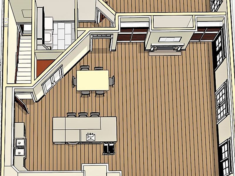 Craftsman House Plan Basement Photo 02 - 028D-0104 | House Plans and More