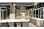 Craftsman House Plan Kitchen Photo 01 - 028D-0104 | House Plans and More