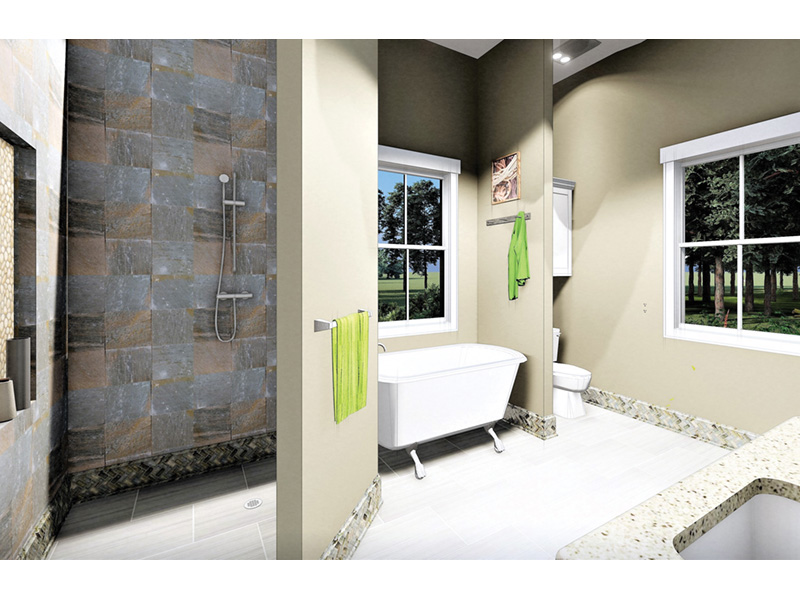 Craftsman House Plan Master Bathroom Photo 01 - 028D-0104 | House Plans and More