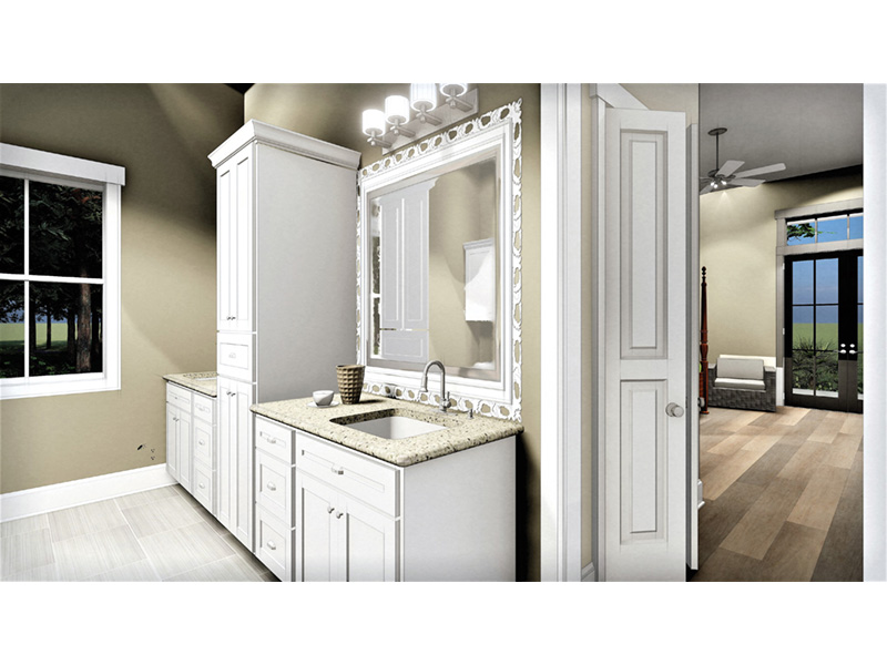 Craftsman House Plan Master Bathroom Photo 02 - 028D-0104 | House Plans and More