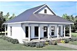 Waterfront House Plan Front Photo 01 - 028D-0108 | House Plans and More
