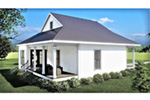 Waterfront House Plan Rear Photo 01 - 028D-0108 | House Plans and More