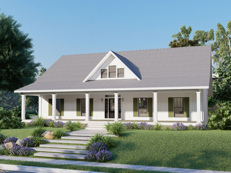 Cape Cod & New England House Plan Front Photo 01 - 028D-0112 | House Plans and More