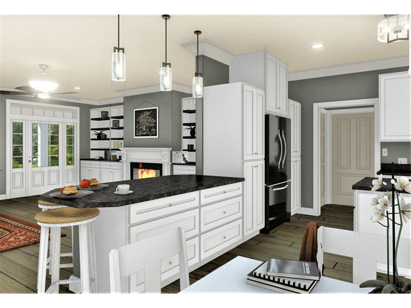 Cape Cod & New England House Plan Kitchen Photo 03 - 028D-0112 | House Plans and More