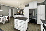 Cape Cod & New England House Plan Kitchen Photo 04 - 028D-0112 | House Plans and More