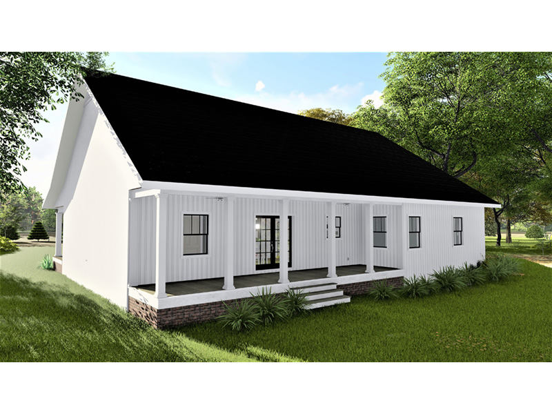 Cape Cod & New England House Plan Rear Photo 02 - 028D-0112 | House Plans and More
