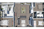 European House Plan 3D First Floor - 028D-0114   House Plans and More