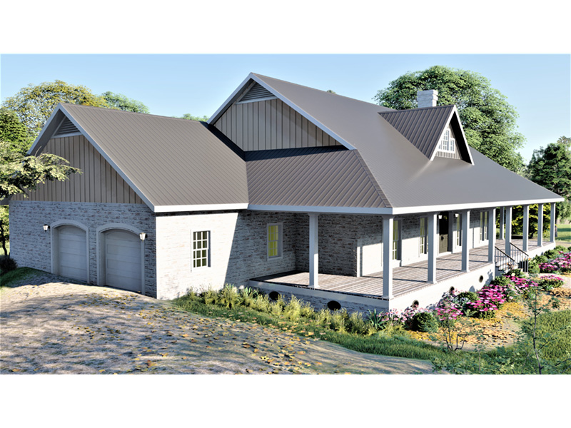 European House Plan Front Porch Photo - 028D-0114   House Plans and More