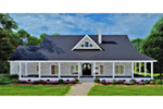European House Plan Front of House 028D-0114