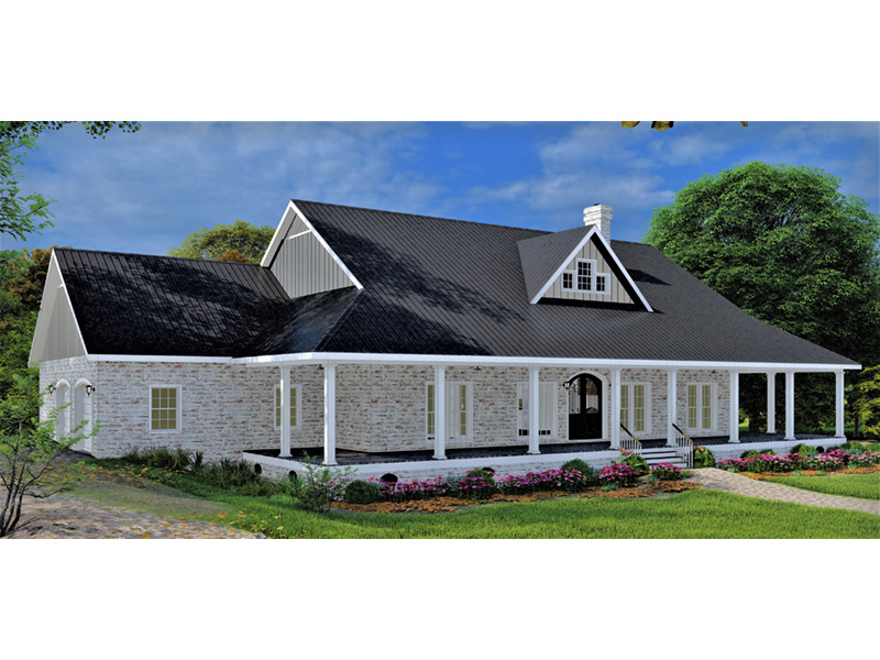 European House Plan Front Photo 01 - 028D-0114   House Plans and More