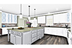 European House Plan Kitchen Photo 02 - 028D-0114   House Plans and More