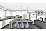 European House Plan Kitchen Photo 05 - 028D-0114   House Plans and More