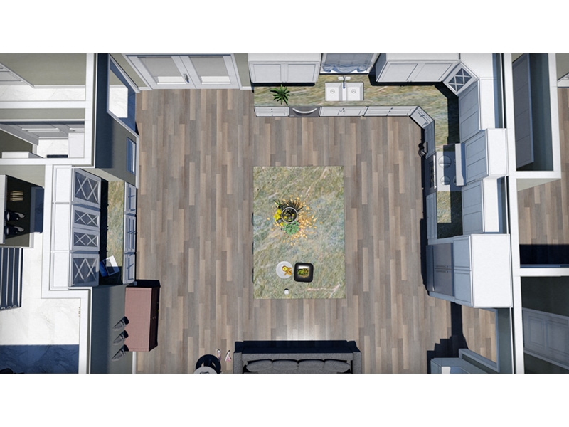 European House Plan Kitchen Photo 06 - 028D-0114   House Plans and More