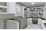 European House Plan Laundry Room Photo 01 - 028D-0114   House Plans and More
