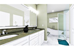 European House Plan Master Bathroom Photo 01 - 028D-0114   House Plans and More