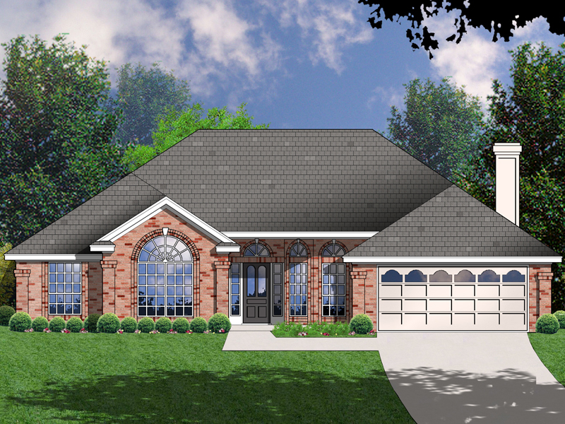 Marlboro Ranch Home Plan 030D-0053 | House Plans and More on
