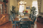 Dining Room Photo 01 - Walbrook Park Traditional Home 032D-0234 | House Plans and More