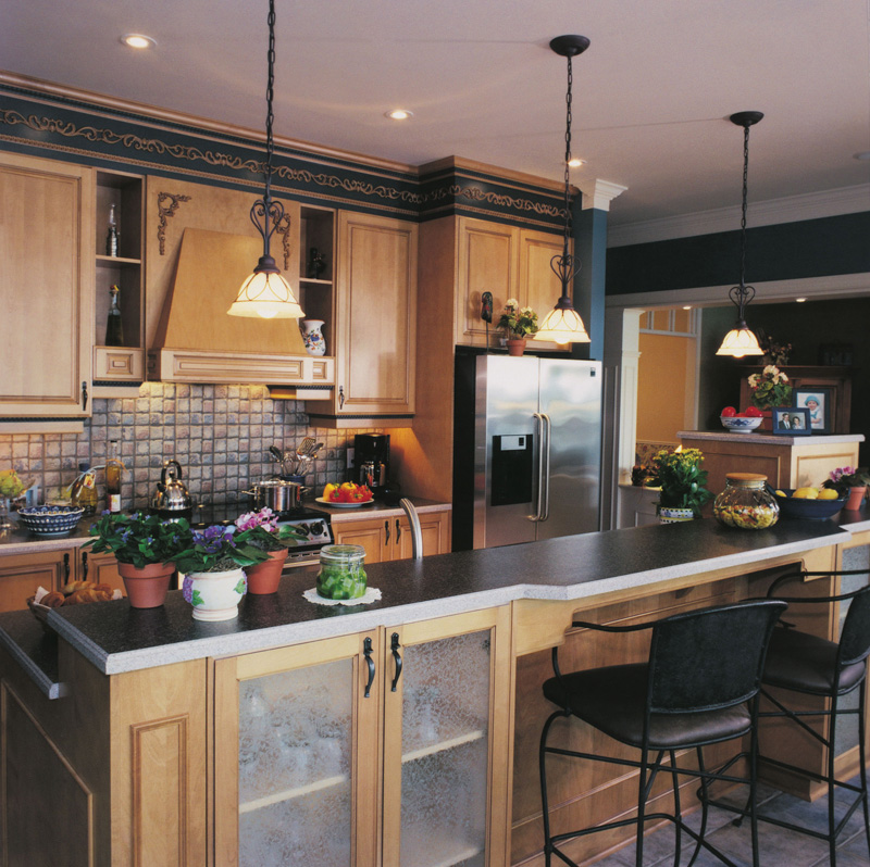 Kitchen Photo 02 - Walbrook Park Traditional Home 032D-0234 | House Plans and More