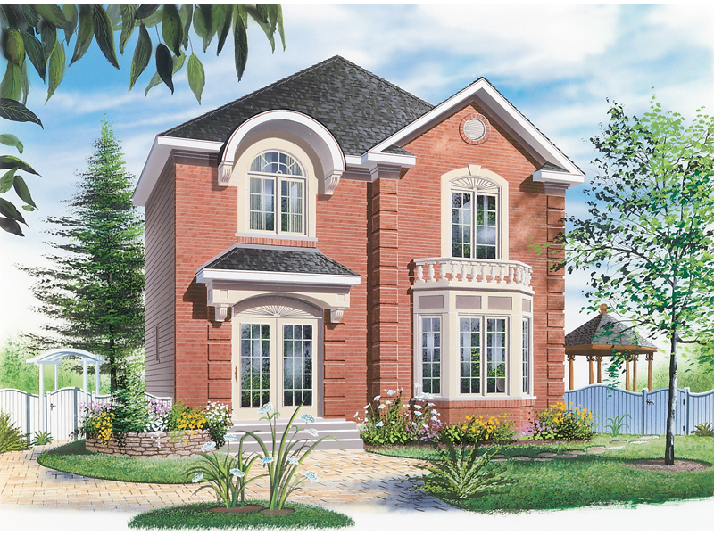 Blissfield Farm Narrow Lot Home Plan 032D-0264 | House Plans ... on traditional house plans, rock and brick home plans, split floor plan house plans, block house plans, one story mediterranean house plans, new orleans style house plans, 2 bath house plans, open floor plan house plans, southern brick home plans, 2 story brick home plans, low maintenance house plans, houses ranch style house plans, brick and stone home plans, residential house plans, american house plans, luxury house plans, country house plans, aluminum house plans, screened porch house plans, luxury brick home plans,