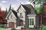 Front Image - Fletcher Manor European Home 032D-0427 | House Plans and More