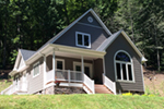 Arts & Crafts House Plan Front Photo of House - Costello Cottage Home 032D-0458 | House Plans and More