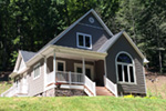 Arts & Crafts House Plan Front Photo 01 - Costello Cottage Home 032D-0458 | House Plans and More