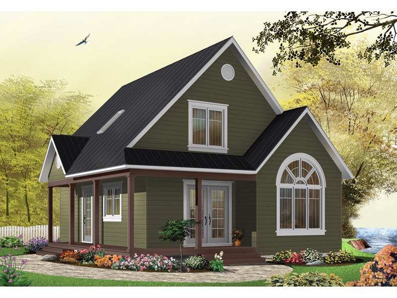 Arts & Crafts House Plan Front Photo 10 - Costello Cottage Home 032D-0458 | House Plans and More