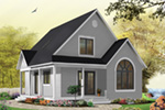 Arts & Crafts House Plan Front of Home Photo 12 - Costello Cottage Home 032D-0458 | House Plans and More