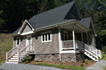 Arts & Crafts House Plan Front Photo 02 - Costello Cottage Home 032D-0458 | House Plans and More