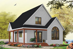 Arts & Crafts House Plan Front Photo 05 - Costello Cottage Home 032D-0458 | House Plans and More