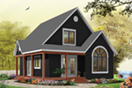 Arts & Crafts House Plan Front Photo 06 - Costello Cottage Home 032D-0458 | House Plans and More