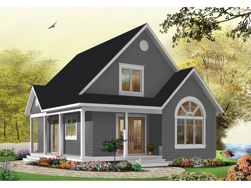 Arts & Crafts House Plan Front Photo 08 - Costello Cottage Home 032D-0458 | House Plans and More