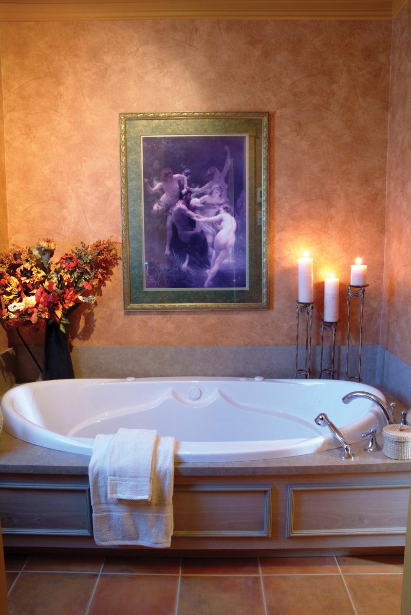 Sunbelt Home Plan Bathroom Photo 01 - Kennywood Craftsman Home 032D-0609 | House Plans and More